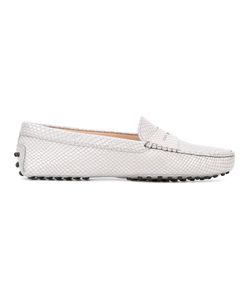 Tod's | Snake-Effect Loafers 40