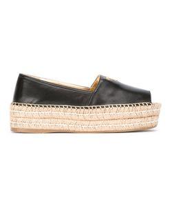 Prada | Open Toe Espadrilles Size 35