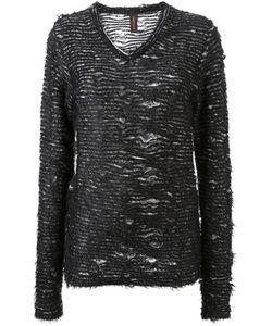 Mihara Yasuhiro | Distressed Knit Sweater