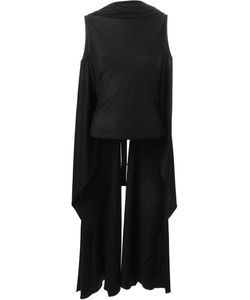 Sybilla | Long Draped Vest
