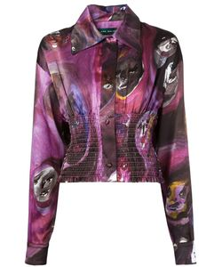 Claire Barrow | Stretch Waist Print Blouse