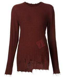 Aleksandr Manamïs | Frayed Fine Knit Sweater