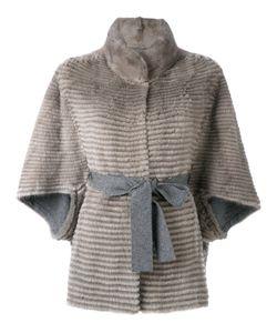 Liska   Belted Fur Jacket