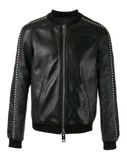 Les Hommes | Stud Detail Bomber Jacket Size 52