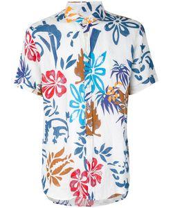 Drumohr | Flower Print Shirt Xl