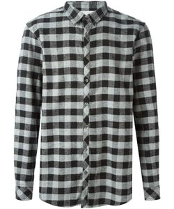 Local Firm | Stein Plaid Shirt Large Cotton