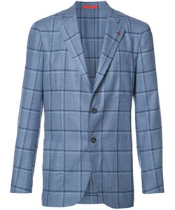Isaia | Checked Blazer 48