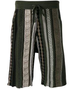 Laneus | Lanubru Knitted Shorts Size 52