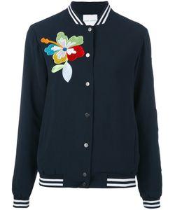Mira Mikati | Flower Detail Bomber Jacket