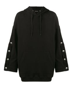 Y / Project | Oversized Hoodie With Arm Button Fastening