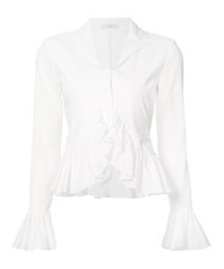 Tome | Frill-Trim Knitted Top