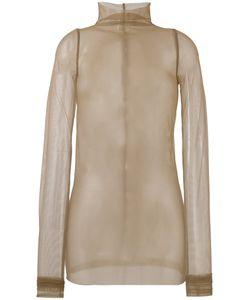 Rick Owens Lilies | Tulle Long Sleeve Top Size 44