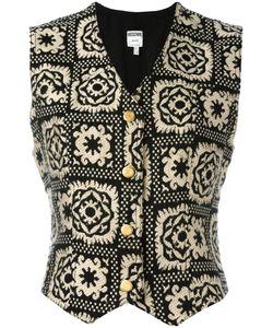 Moschino Vintage | Patterned Waistcoat