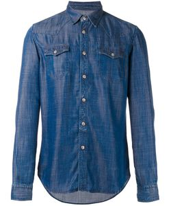 Hydrogen | Chest Pocket Denim Shirt Medium Lyocell
