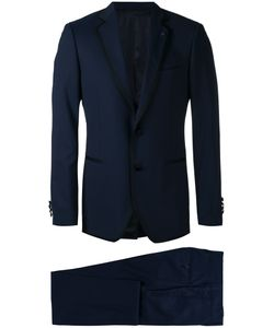 Lardini | Contrasting Piping Two-Piece Suit Size 46