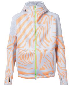adidas x Kolor | Tiger Print Zipped Hoodie