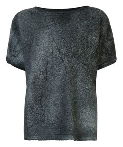 Avant Toi | Faded Effect Knitted Top Size Small