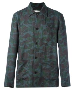 Dries Van Noten | Camouflage Print Shirt Size 50
