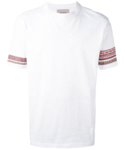 Casely-Hayford | Embroidered Sleeves T-Shirt L