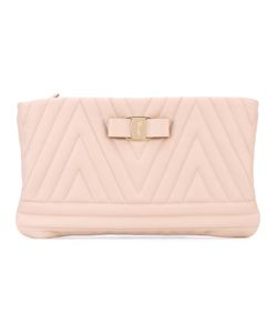 Salvatore Ferragamo | Quilted Vara Clutch Bag Calf
