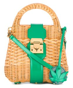 Mark Cross | Manray Mini Rattan Satchel