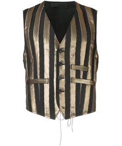 Haider Ackermann | Vertical Striped Waistcoat Men