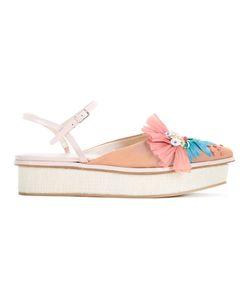 Delpozo | Platform Sandals Size 37