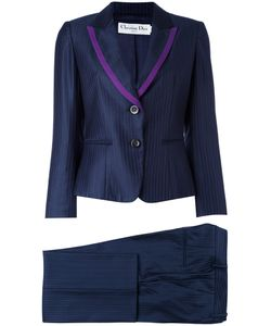 Christian Dior Vintage | Pinstripe Two Piece Suit 40
