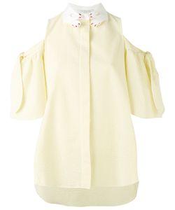 Vivetta   Cold-Shoulder Shirt 44