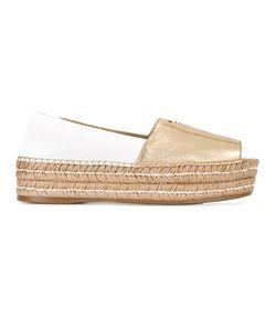 Prada | Platform Sole Branded Espadrilles Size 36