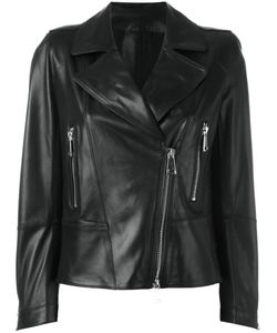 Sylvie Schimmel | Biker Jacket With Tone Zippers 38