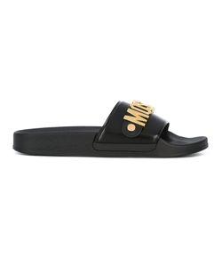 Moschino | Fron Logo Slider Sandals Size 36