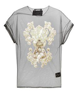 Antpitagora | Sequin Embellished Sheer Blouse