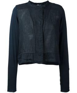 Kristensen Du Nord | Semi-Sheer Banded Collar Jacket Size