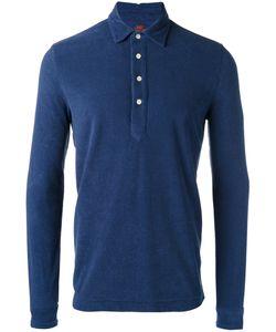 Mp Massimo Piombo   Towell Long Sleeve Polo Shirt