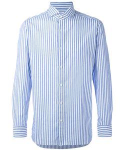 Borrelli | Striped Shirt 42 Cotton/Linen/Flax
