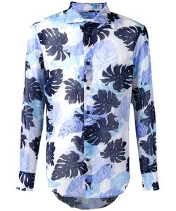 Ermanno Scervino   Palm Print Shirt Men