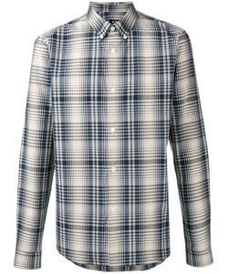 A.P.C. | A.P.C. Button Down Check Shirt Size Medium