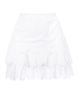 Ulla Johnson | English Embroidery Layered Skirt Women