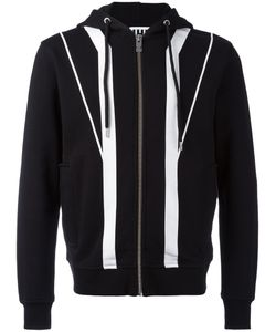 Les Hommes Urban | Striped Hoodie Size Xl