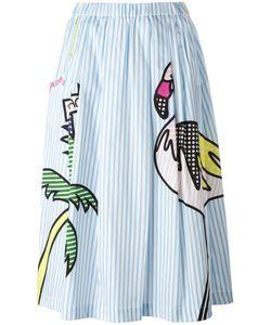 Mira Mikati | Mixed Print A-Line Skirt Size 34