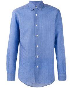 Ermenegildo Zegna | Geometric Weave Long Sleeve Shirt