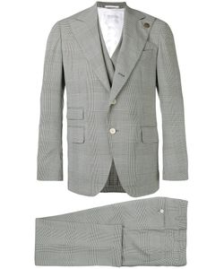 Gabriele Pasini | Embroidered Checked Suit