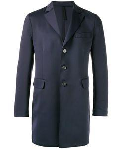 Harris Wharf London | Single-Breasted Overcoat Size 48