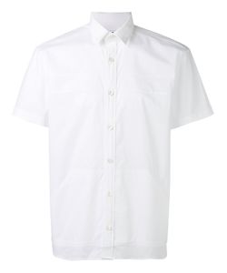 Les Hommes Urban | Shortsleeved Shirt 46 Cotton/Spandex/Elastane