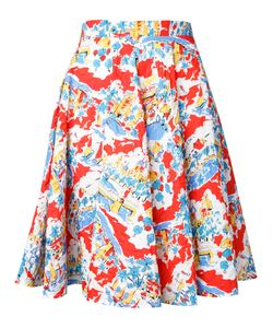 Mikio Sakabe | Flower A-Line Skirt Size Medium