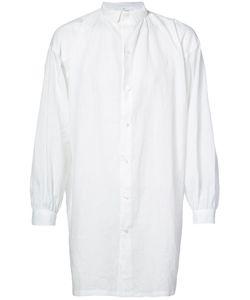 Horisaki Design & Handel | Long Sheer Linen Shirt Unisex