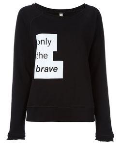 Diesel | Motto Print Sweatshirt Women