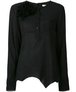 Aleksandr Manamïs | Brooch Buttoned Shirt Women