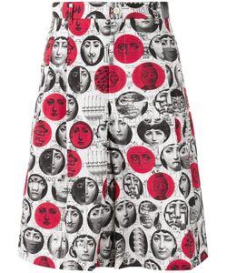 Comme Des Garçons Homme Plus | Face Print Shorts